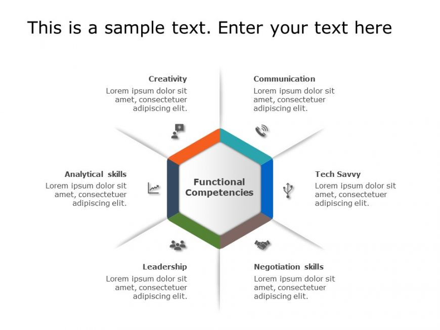 Hexagon PowerPoint Template 13
