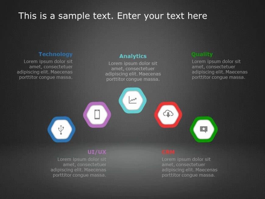 Hexagon PowerPoint Template 15