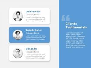Client Testimonials Powerpoint Template 5