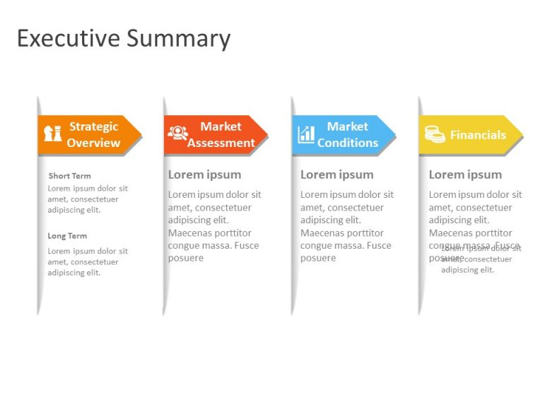 Executive Summary PowerPoint Template 17