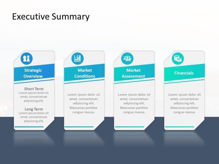 Executive Summary PowerPoint Template 18