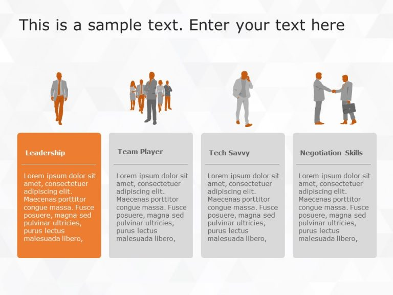 Functional Expertise PowerPoint Template 3