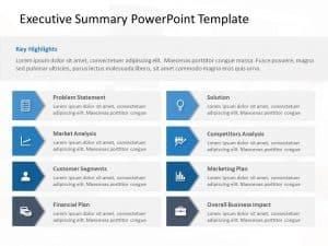 Executive Summary PowerPoint Template 36