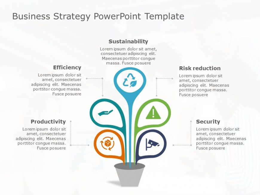 Business Strategy PowerPoint Template 32