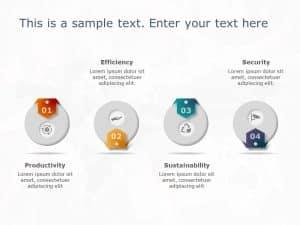 4 Steps Circular Features