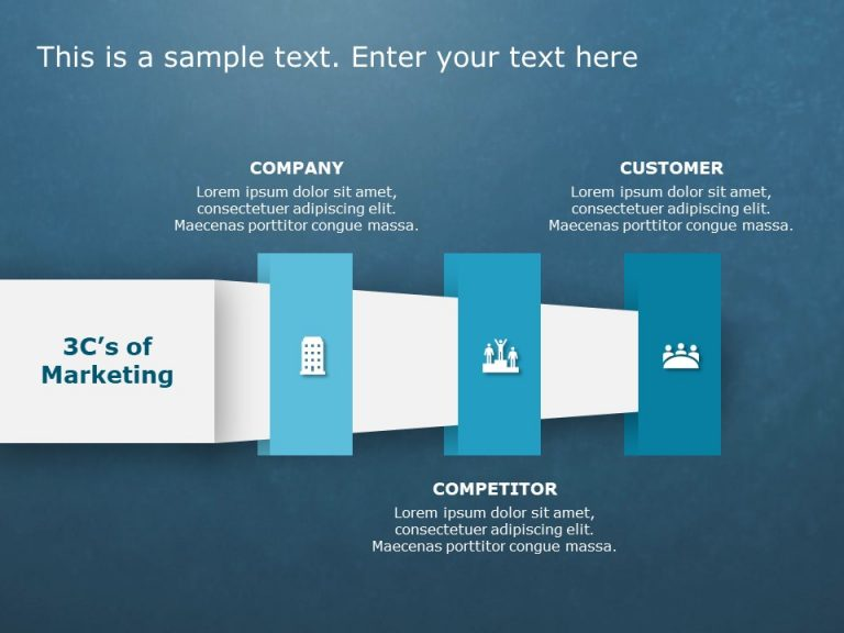 3Cs Marketing PowerPoint Template 13