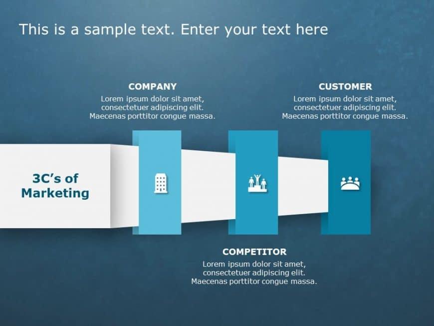 3Cs Marketing PowerPoint Template 13