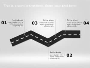 Business Roadmap PowerPoint Template 52
