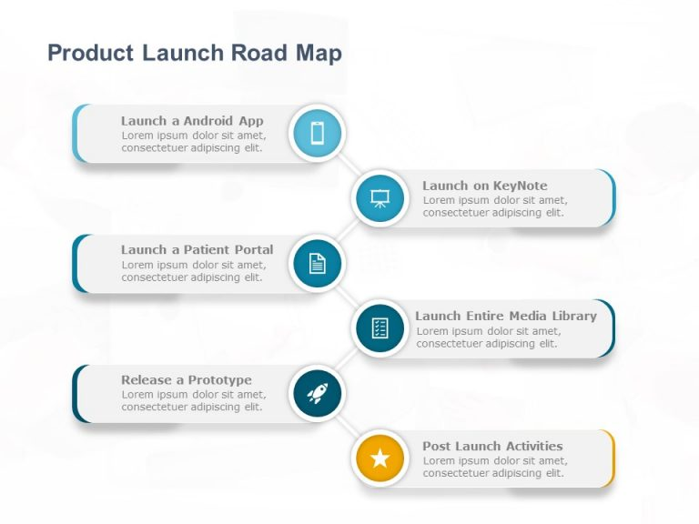 Product RoadMap PowerPoint Template 11