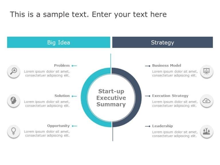 Startup Summary PowerPoint Template 1