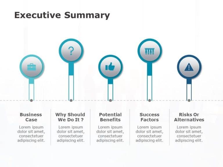 Executive Summary Powerpoint Template 1