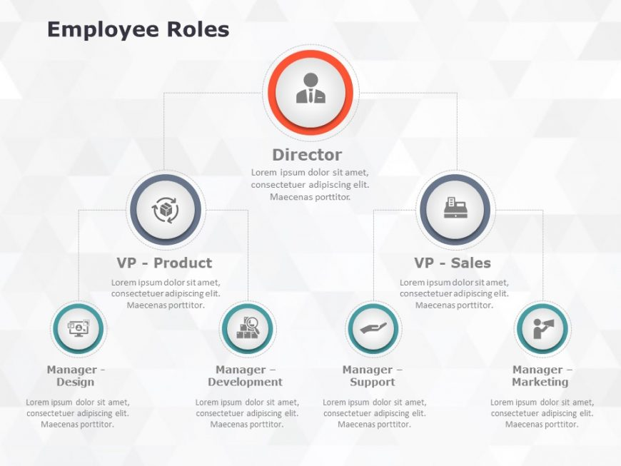 Employee Roles Powerpoint Template 1