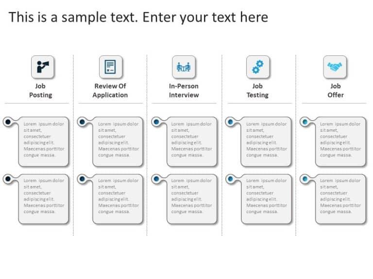 Recruitment Process PowerPoint Template 9