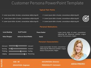 Target Audience Behaviour PowerPoint Template 1