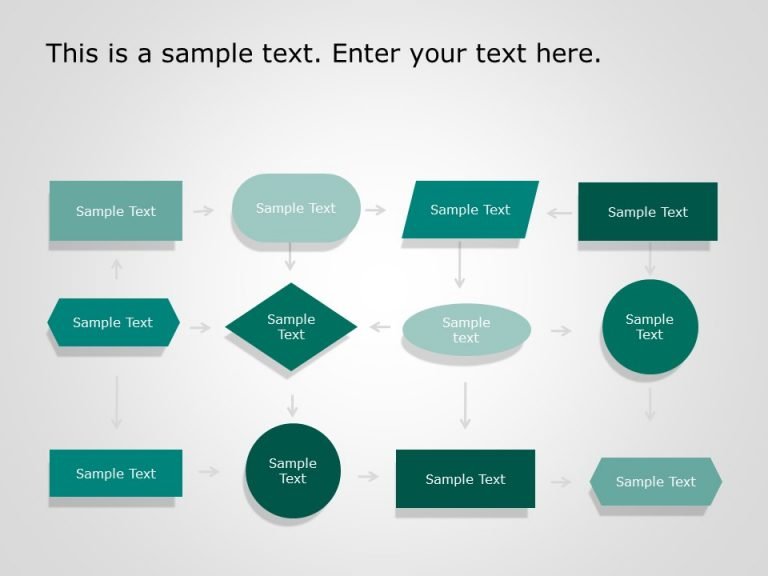 Flow Chart PowerPoint Template 5