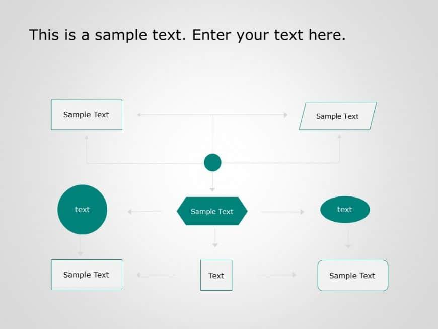 Flow Chart PowerPoint Template 6