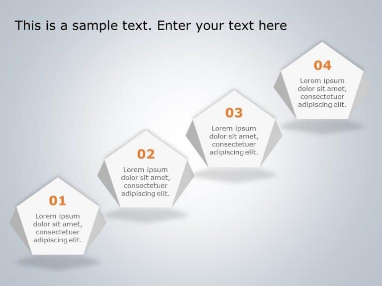 4 Steps Agenda PowerPoint Template
