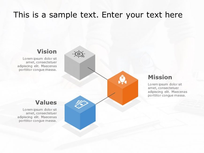 Mission Vision PowerPoint Template 14