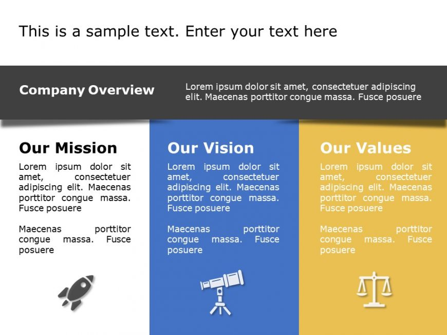 Mission Vision PowerPoint Template 15