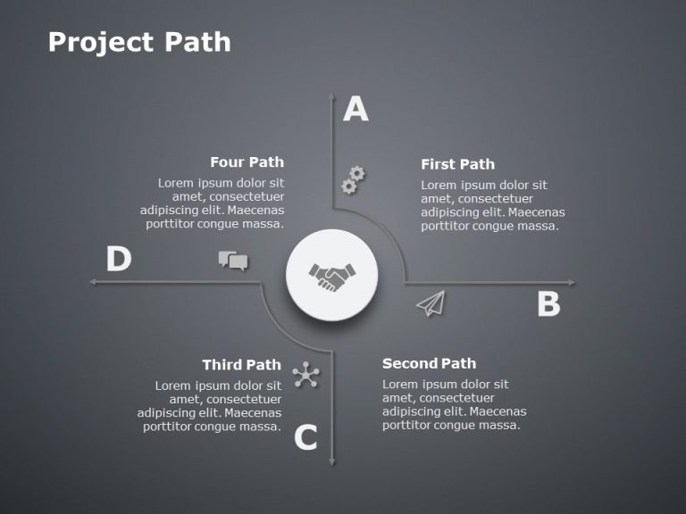 Project Path PowerPoint Template 4