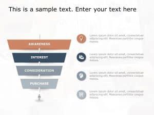 Funnel Analysis PowerPoint Diagram 4