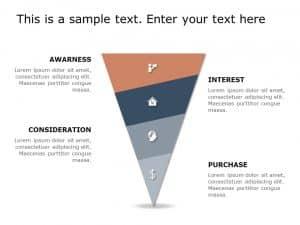 Funnel Analysis PowerPoint Diagram 8