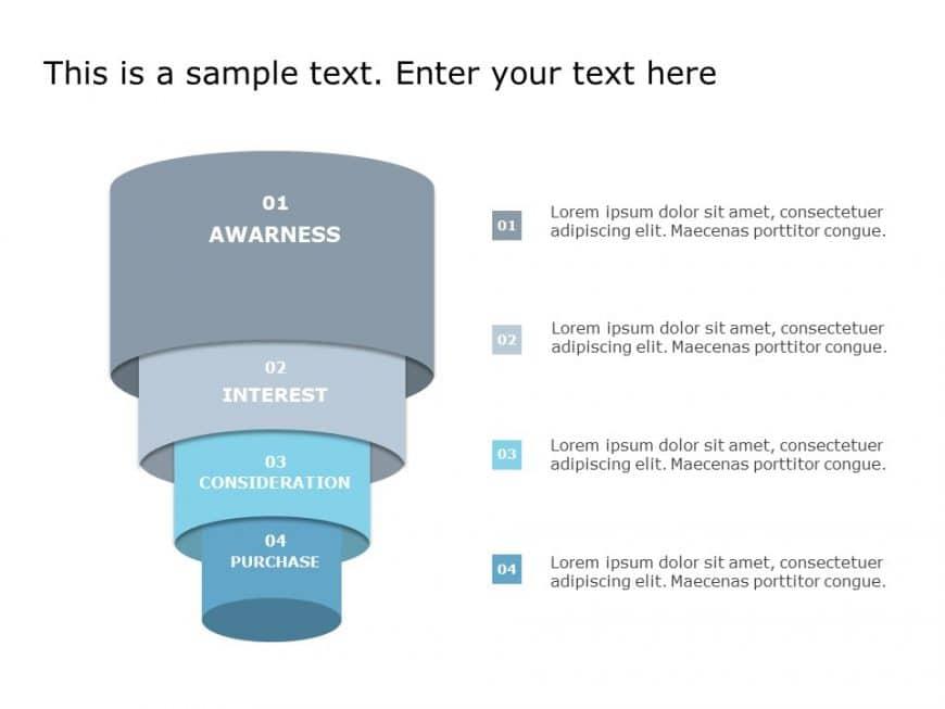 Funnel Analysis PowerPoint Diagram 18