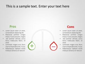 Pros And Cons Powerpoint Template 5