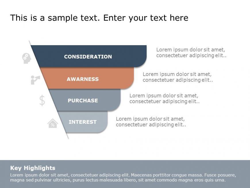 Funnel Analysis PowerPoint Diagram 9