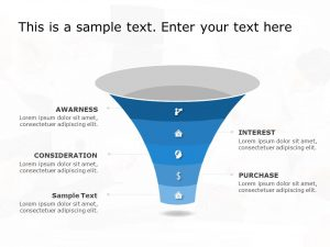 Funnel Analysis PowerPoint Diagram 10