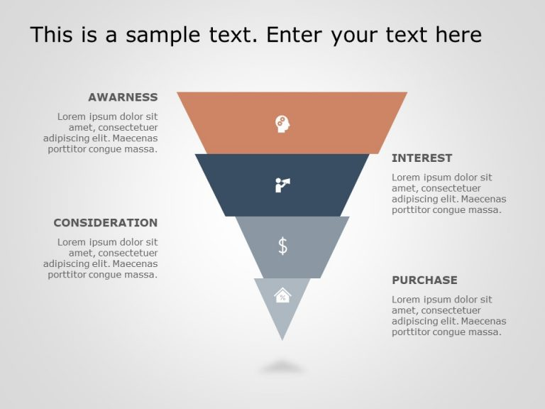 Funnel Analysis PowerPoint Diagram 6