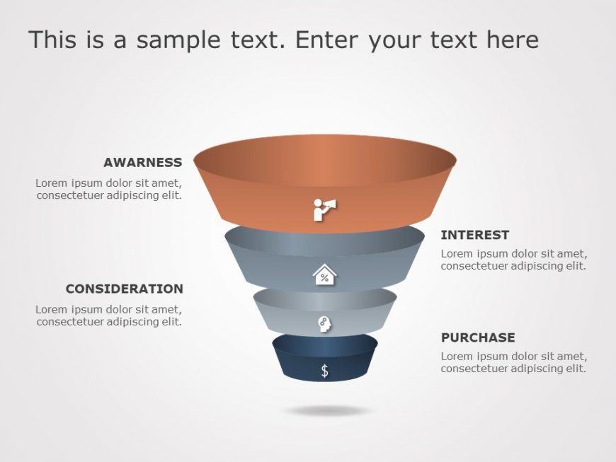 Funnel Analysis PowerPoint Diagram 14