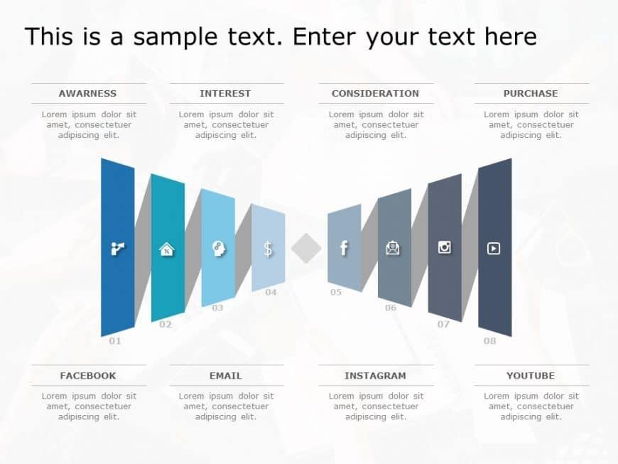 Funnel Analysis PowerPoint Diagram 16