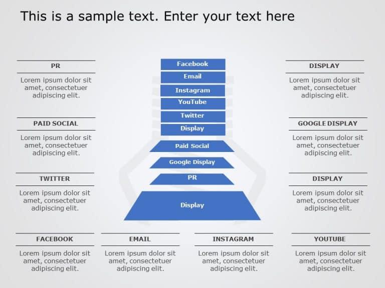 Funnel Analysis PowerPoint Diagram 17