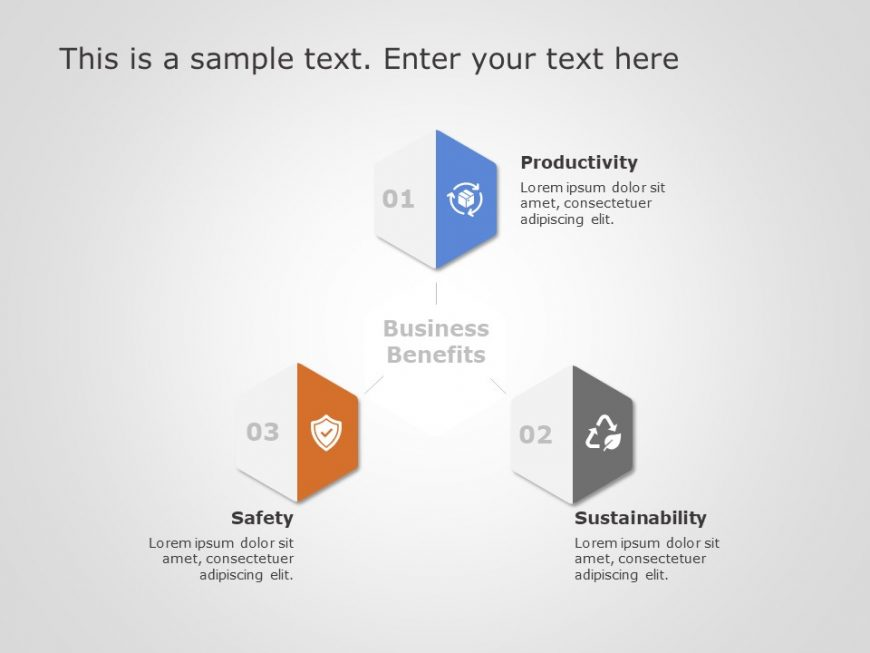 Free Hexagon Core Competencies PowerPoint