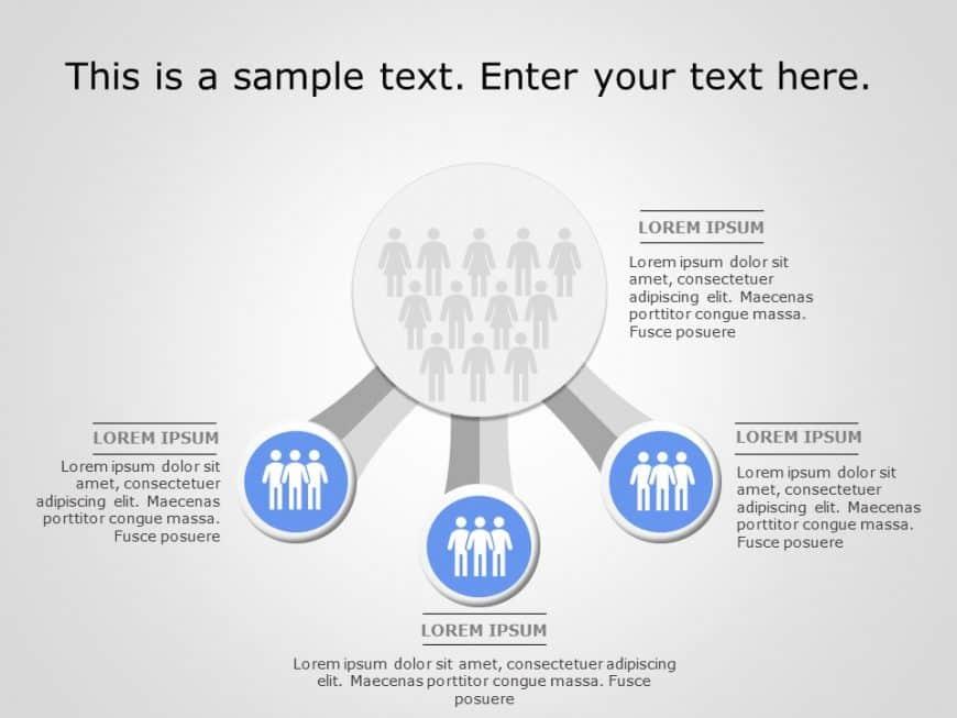 Customer Segmentation PowerPoint Template 1