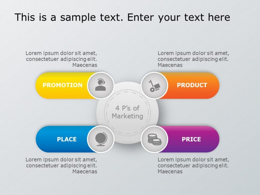 4Ps Marketing PowerPoint Template 7