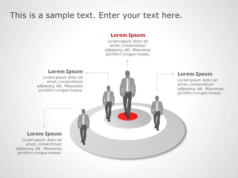 Target Market Powerpoint Template 2