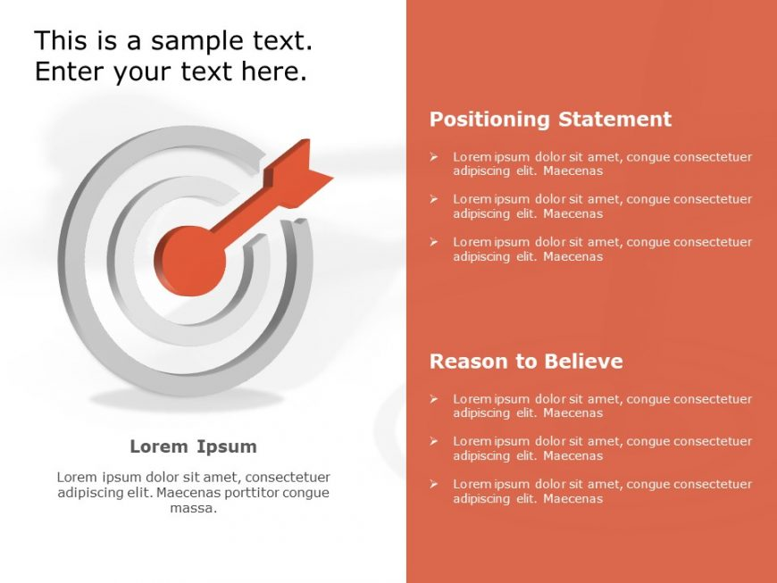 Product Positioning PowerPoint Template 2