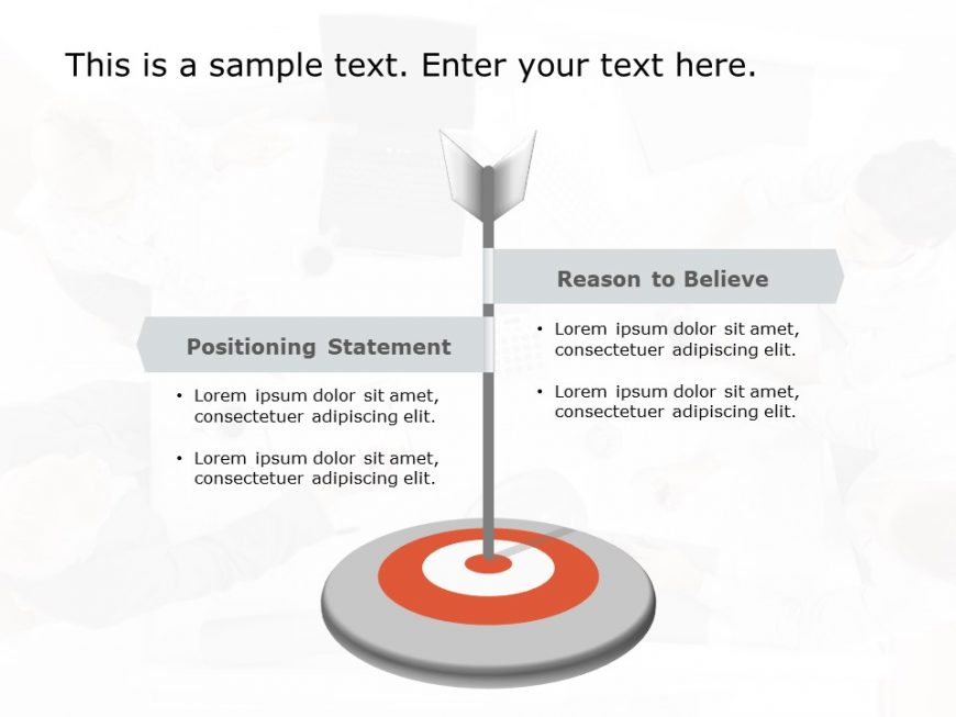 Product Positioning PowerPoint Template 4