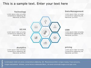 Hexagon PowerPoint Template 14