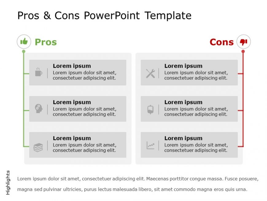 Pros And Cons Powerpoint Template 9