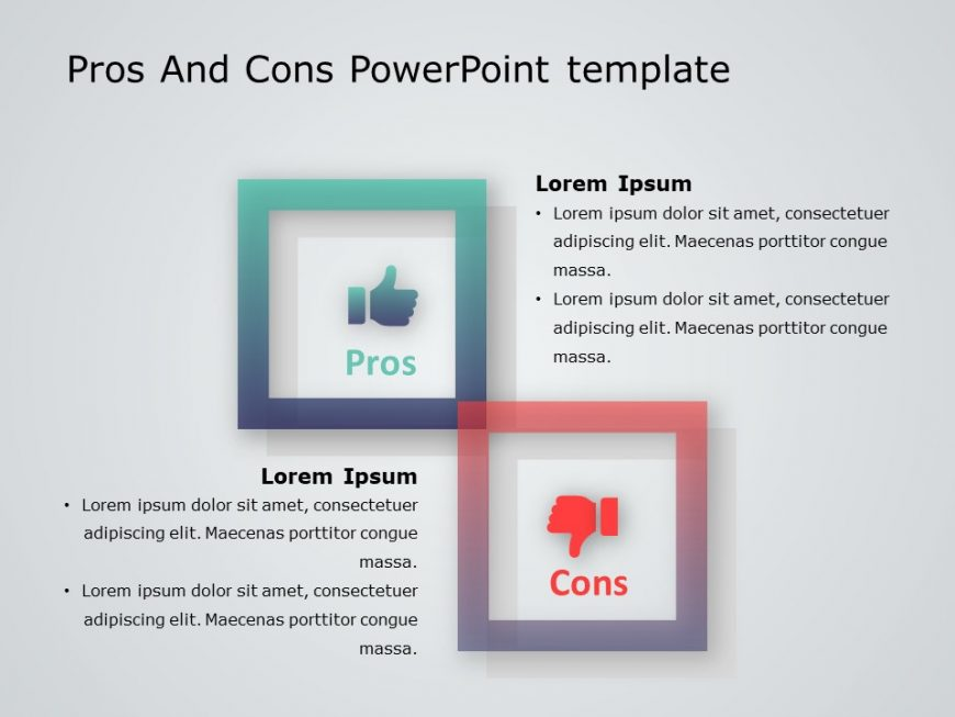 Pros And Cons Powerpoint Template 10