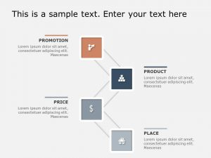 4Ps Marketing PowerPoint Template 8