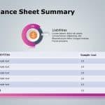 balance sheet summary powerpoint template 3