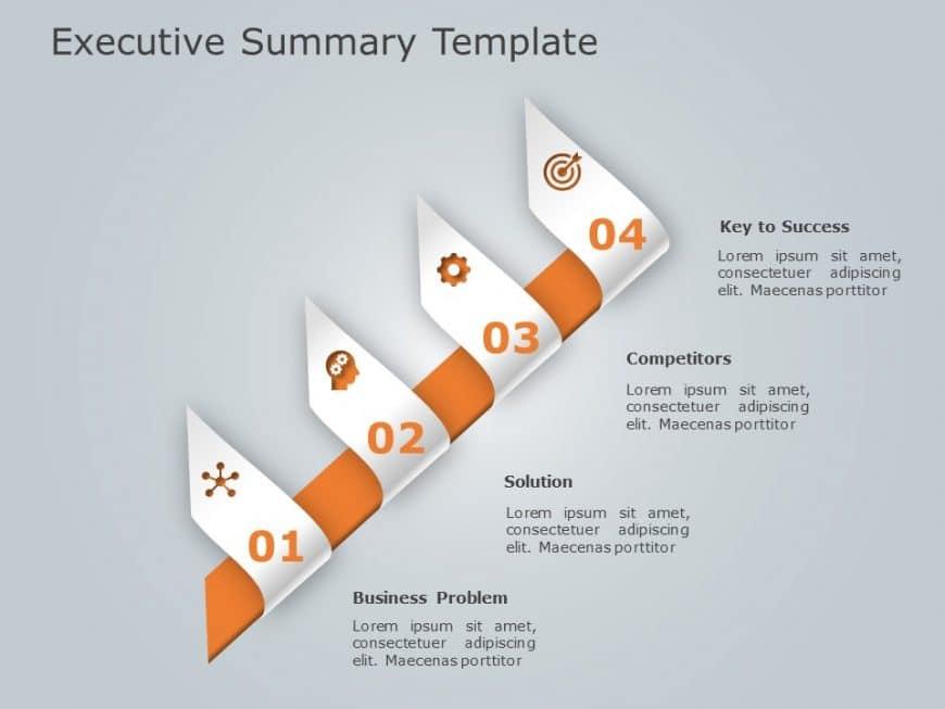 Executive summary PowerPoint Template 8