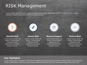 Risk assessment PowerPoint Template 6