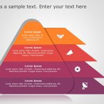Pyramid Shape PowerPoint template 1