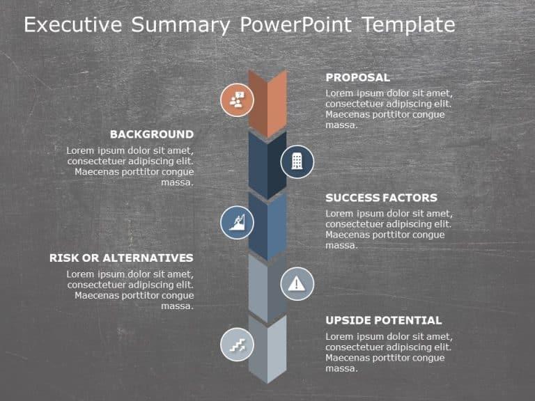Executive Summary PowerPoint Template 16