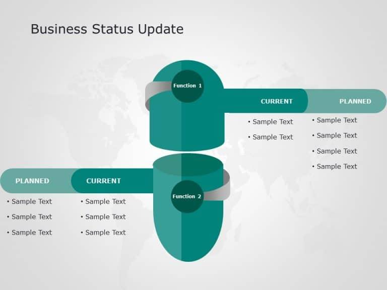 Business Status Update Powerpoint Template 2